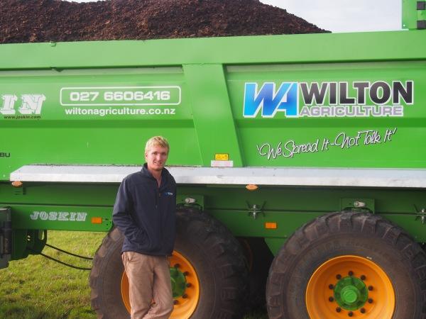 Brodie Wilton - Wilton Agriculture