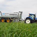 Joskin in field - wilton agriculture