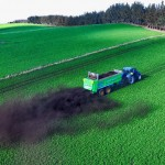Muck Spreading in field